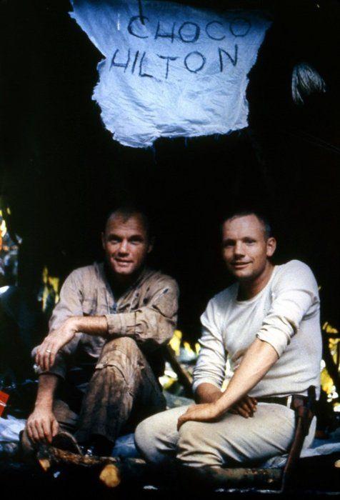 John Glenn and Neil Armstong, jungle survival training ...