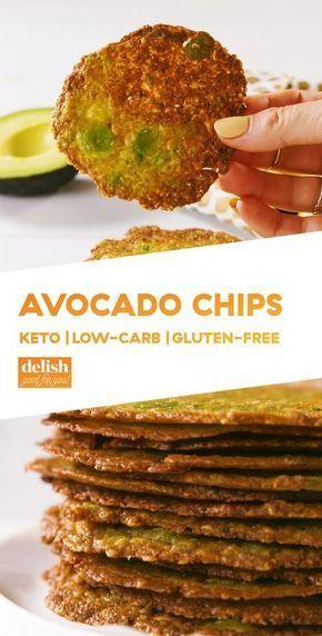 Photo of Leckere Keto-Snack-Rezepte, Keto-Avocado-Chips, kohlenhydratarme Taco-Tassen und…