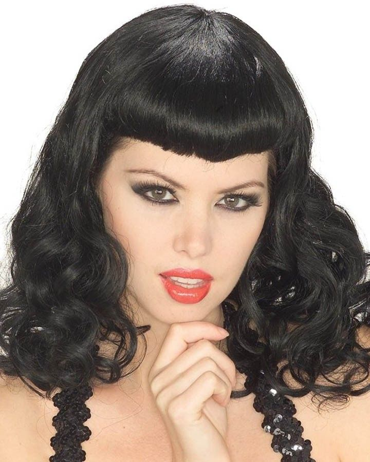 Pin Up Wig. Black WigCostume WigsHalloween Costume IdeasPin ...  sc 1 st  Pinterest & Pin Up Wig | Halloween Costume Ideas | Pinterest | Costume wigs Wig ...