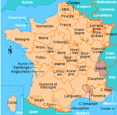 Map Of France Great Maps Pinterest France Genealogy And - Luxembourg clickable map
