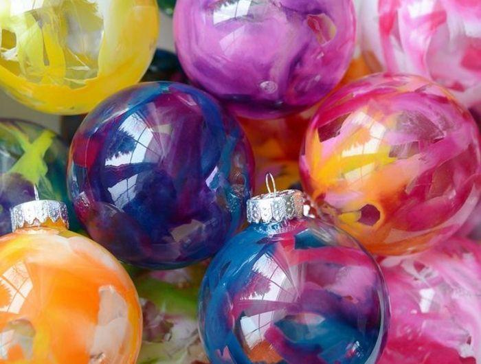 48 diy idées pour créer une boule de noël originale!