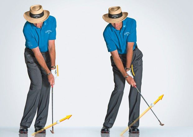 David Leadbetter: For Chip Shots Use A Sand Or Lob Wedge
