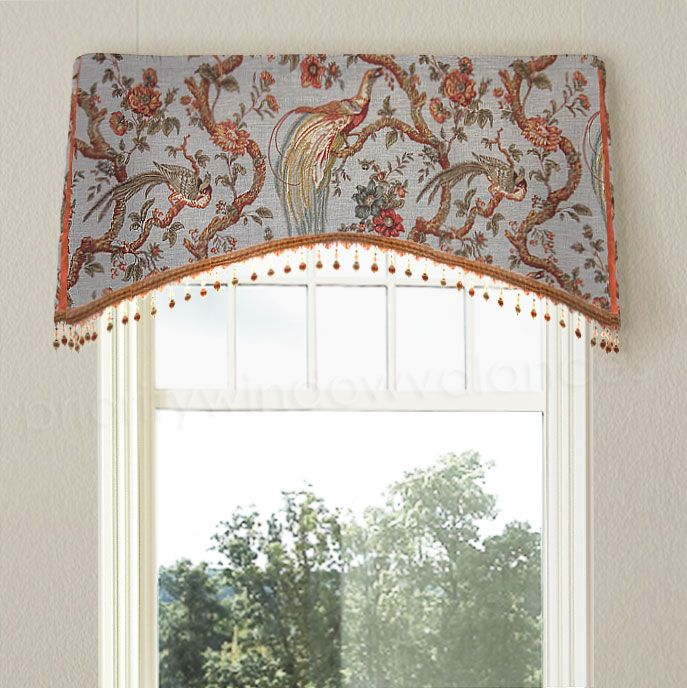 Priority Window Valances Custom Valances Arched Kick Pleat - cortinas para ventanas