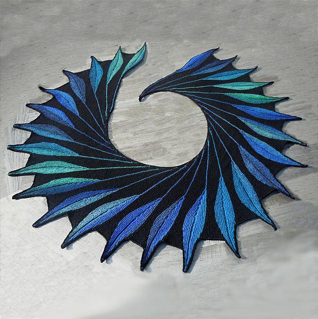 Dreambird KAL pattern by Nadita Swings | Chal, Tejido y Puntos