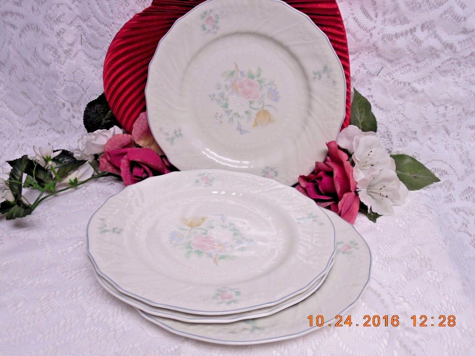 Royal Doulton China Dinnerware The Moselle Collection Valencia 4 Salad plate & Royal Doulton China Dinnerware The Moselle Collection Valencia 4 ...