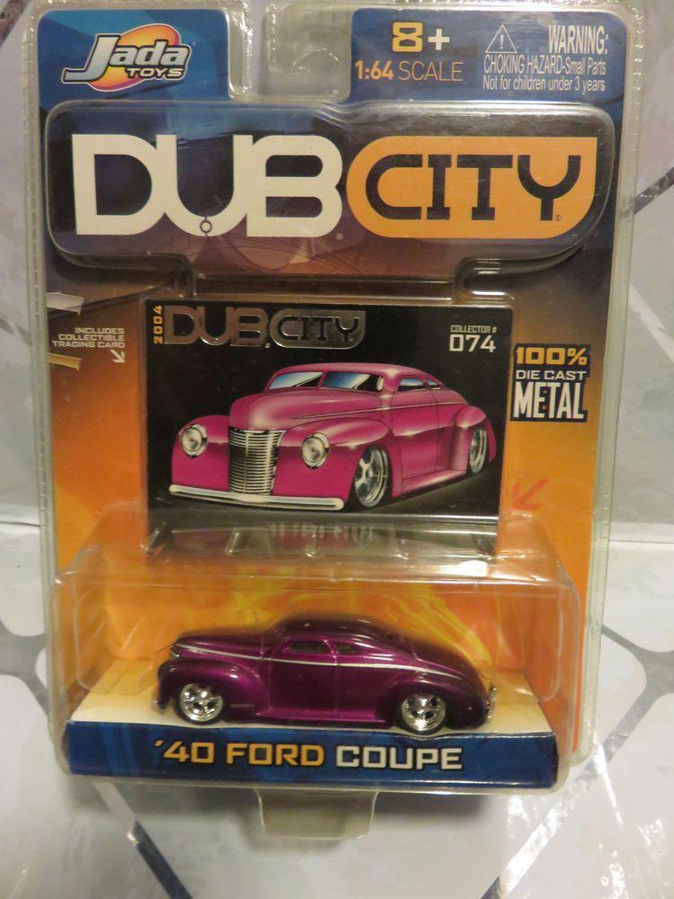 40 Ford Coupe 1:64 Purple Jada Dub City Maisto Muscle Car #074 New ...