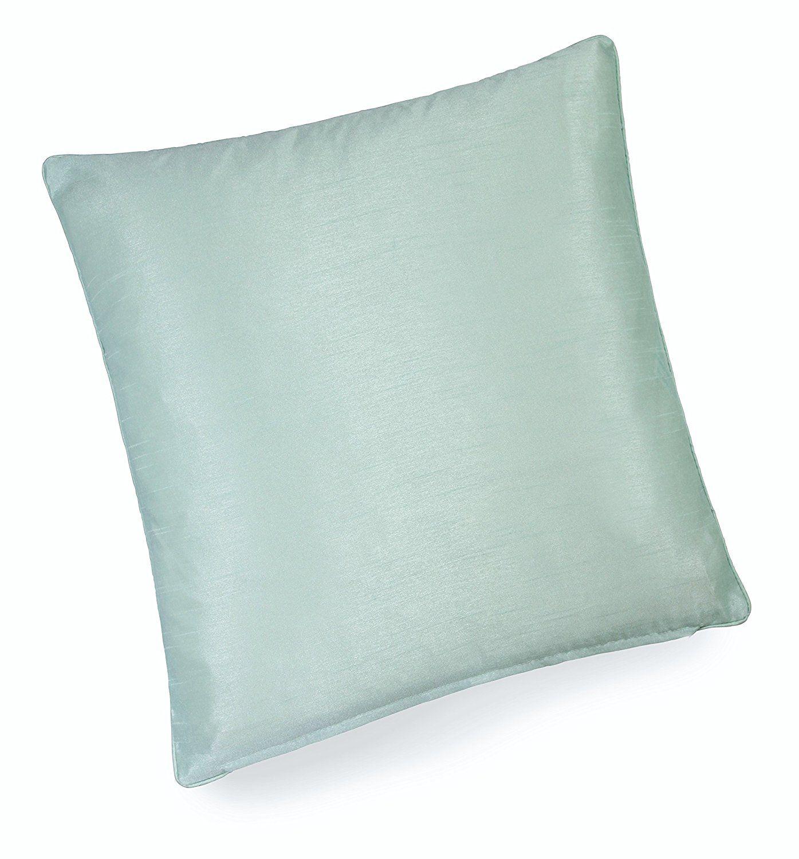 Handmade DUCK EGG BLUE DIAMOND 100/% Cotton Cushion Cover Various sizes