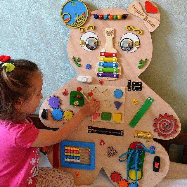 Animal planche occupé planche sensorielle verrou planche enfant en bas âge jouet éducatif Busyboard jouet Fidget planche livre déveil Noël bébé jouet cadeau 2 ans