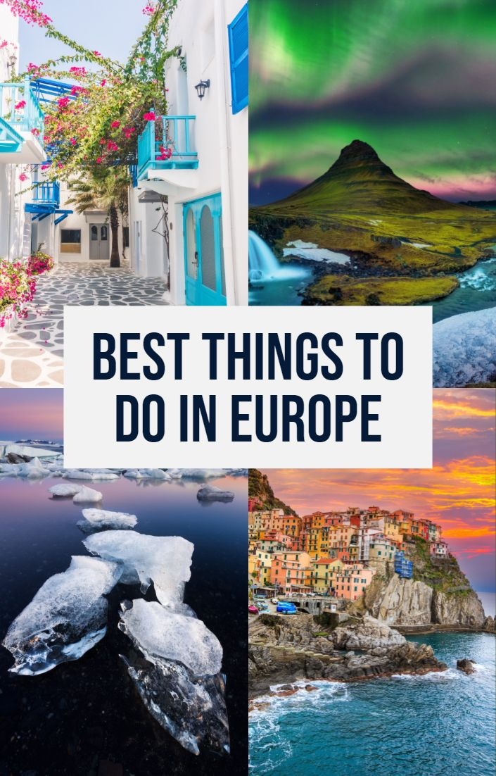 European Bucket List 35 Things Not To Miss When Traveling Europe Travel Through Europe Europe Travel European Bucket List
