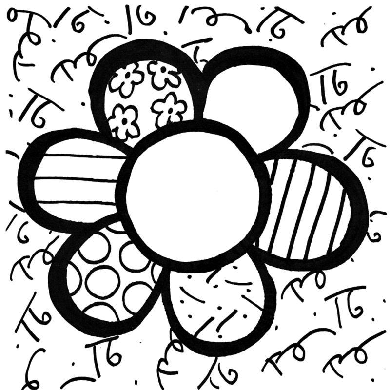 Romero Brito Art Desenhos Romero Brito Obras De Romero Britto