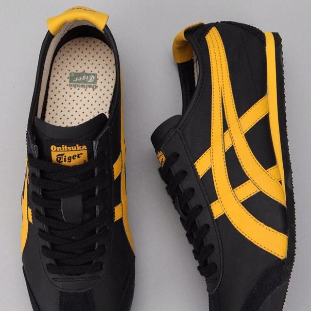 a13cb3bfdd Asics tigers - Black Yellow | Pintas | Zapatos hombre, Zapatillas ...