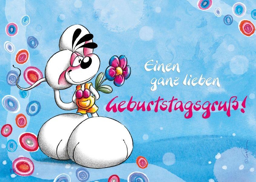 Ganz lieber Geburtstagsgruß! | Diddl Mouse & Friends | Greeting