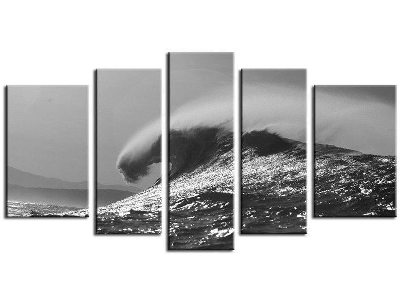 tableau paysage marin noir et blanc cadre d coration cadre tableau et cadres. Black Bedroom Furniture Sets. Home Design Ideas
