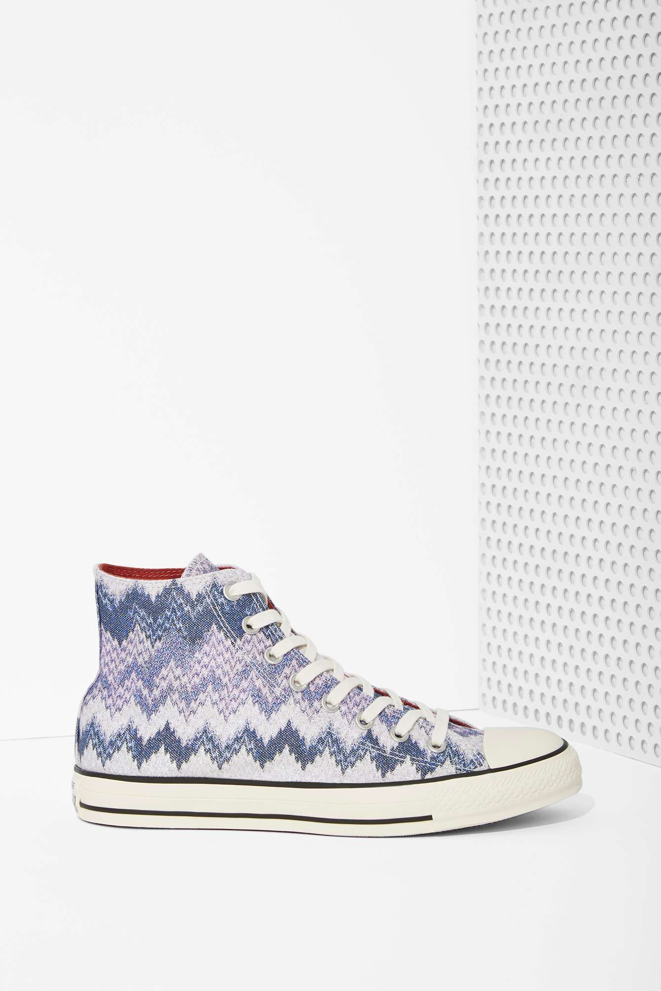 Missoni x Converse All Star High-Top Sneaker | Nasty Gal