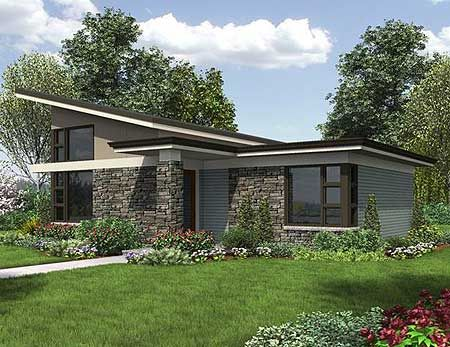 Prairie home plans modern home design and style for Prairie school house plans