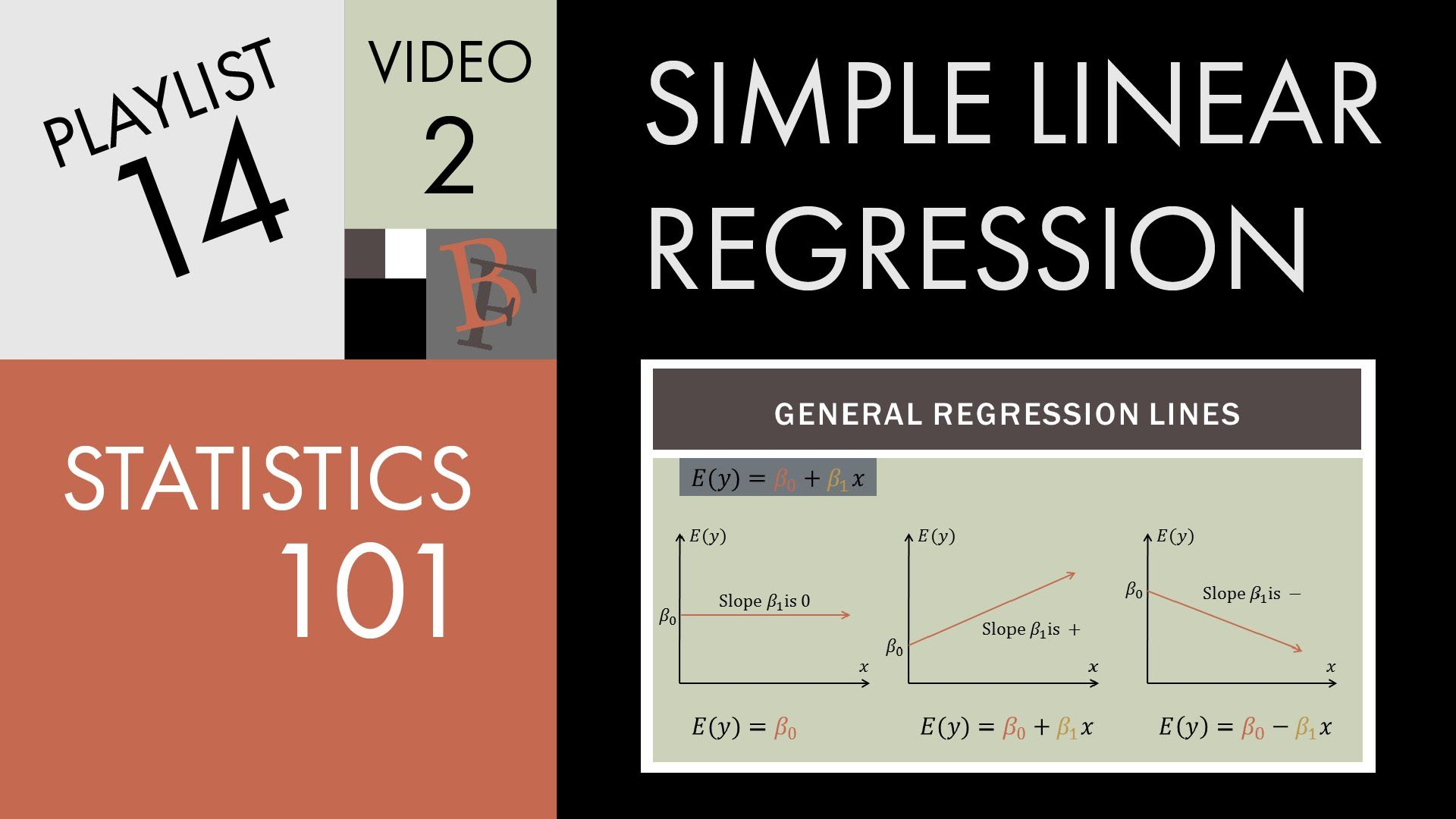 Statistics 101 Linear Regression Algebra Equations And