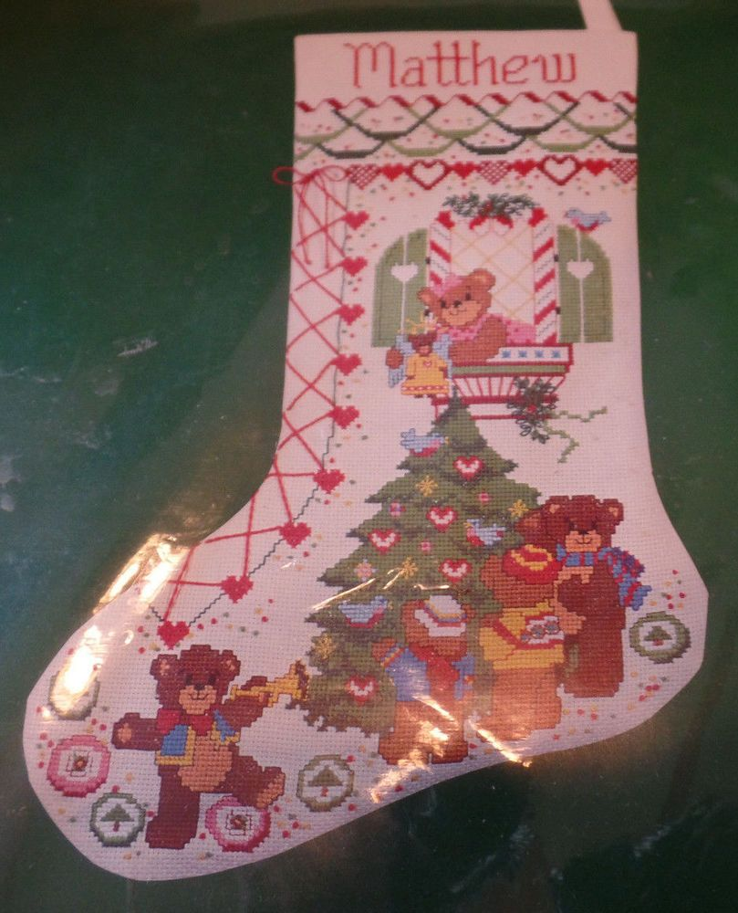 Dimensions Christmas Stocking Counted Cross Stitch Kit
