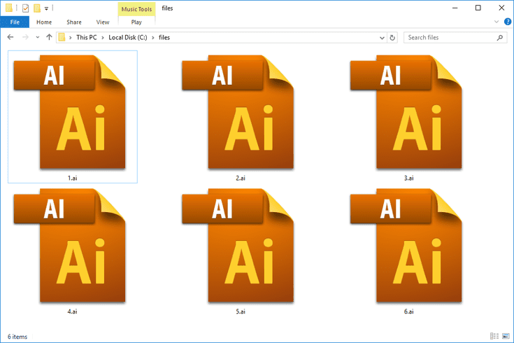 What S An Ai File And How Do You Open One Wedding Album Logo Design Filing