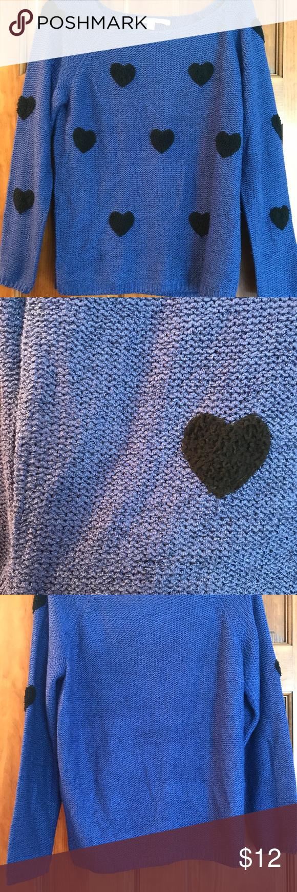 Lauren Conrad Sparkly Sapphire Sweater | Lauren conrad, Black ...