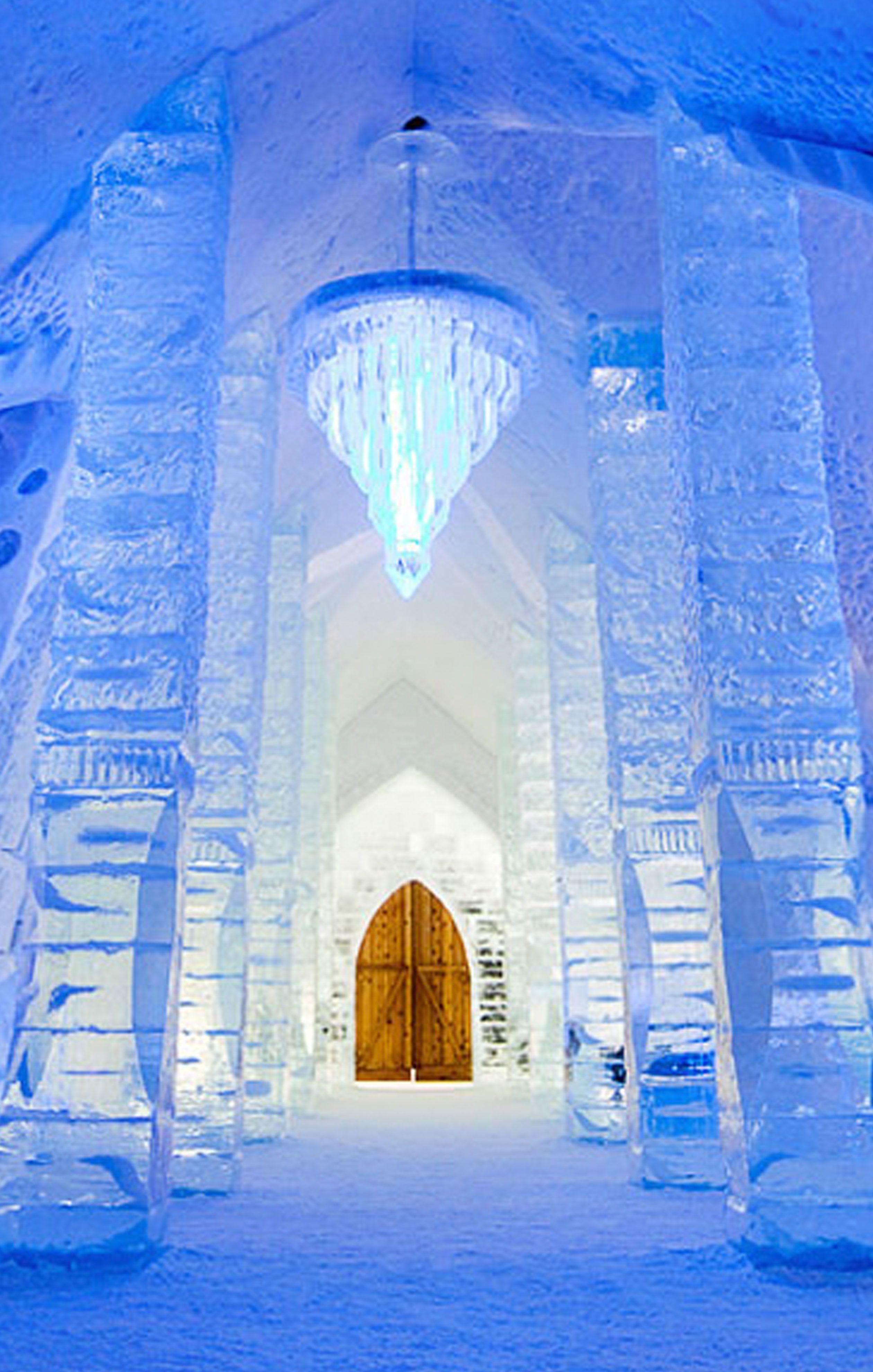 Spend Night In Ice Hotel Quebec #groupongetaways