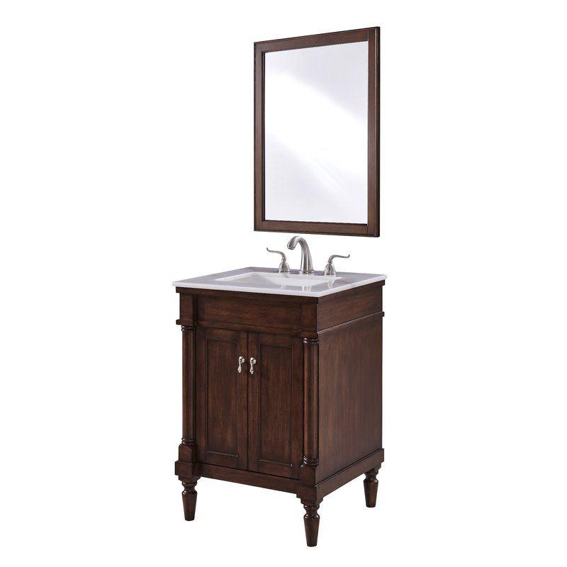 Deina 24 Single Bathroom Vanity Set Single Bathroom Vanity