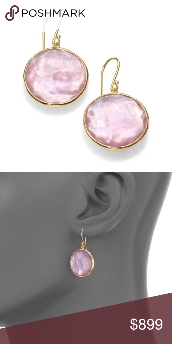 Ippolita Amethyst Mother Of Pearl 18k Pure Gold 100 Authentic Rock Candy