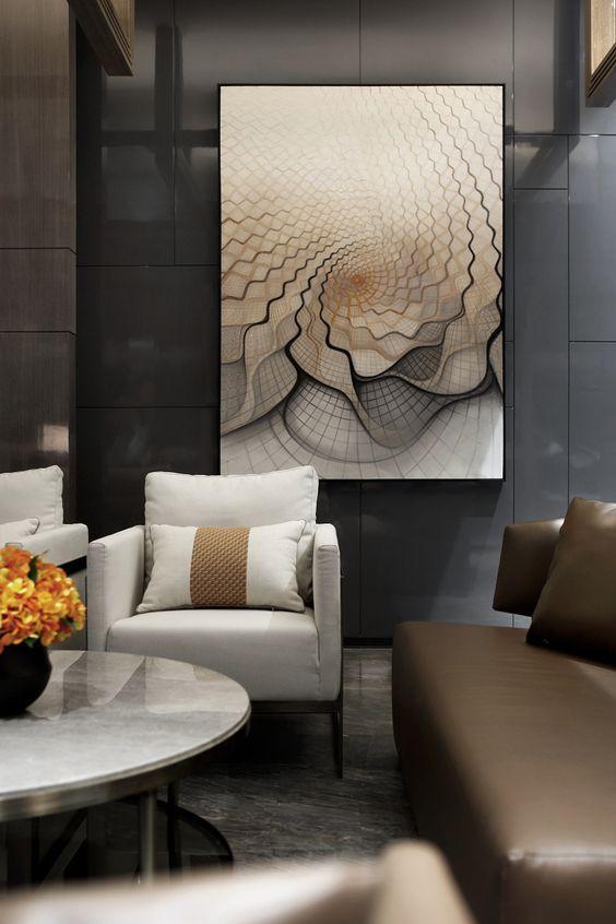 Living Room Ideas With Boca Do Lobo S Limited Edition Furniture Canvas Art Wall Decor Decor Contemporary Living Room Design #wall #art #contemporary #living #room
