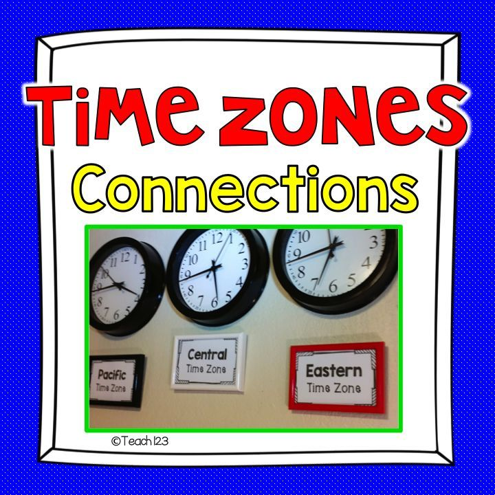 free morning message telling time set up time zone clocks in your classroom it is a great. Black Bedroom Furniture Sets. Home Design Ideas