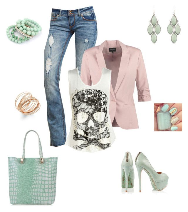 """""""Untitled #122"""" by dulbus on Polyvore featuring CJG, mbyM, INC International Concepts and Roberto Cavalli"""