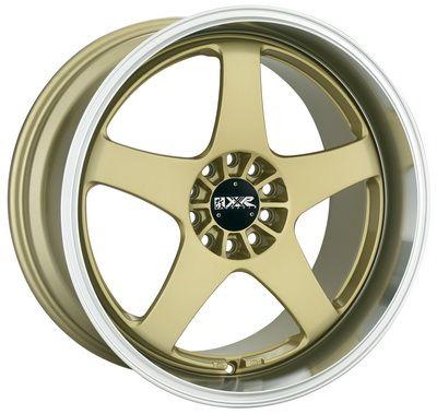 Xxr Wheels 962 19 Inch 19x9 5 Gold Rims With Machined Lip Felgen