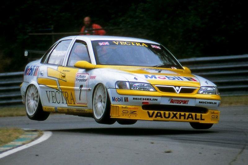 Vectra B Touring Vauxhall Btcc Sports Car Racing