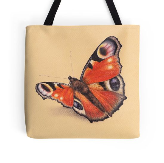 Butterfly Tote Bag Butterfly by Lars Furtwaengler