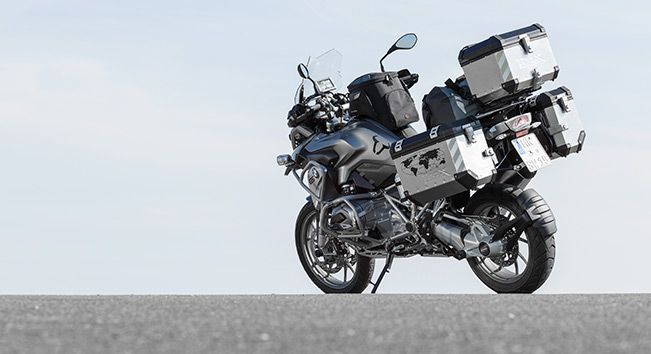 full equiped bmw r1200gs 2013 with products from sw motech. Black Bedroom Furniture Sets. Home Design Ideas