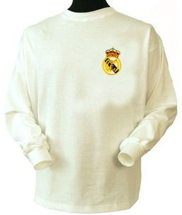 online store d1759 6bfea Real Madrid 1960s Home Retro Shirt | vintage jerseys | Real ...
