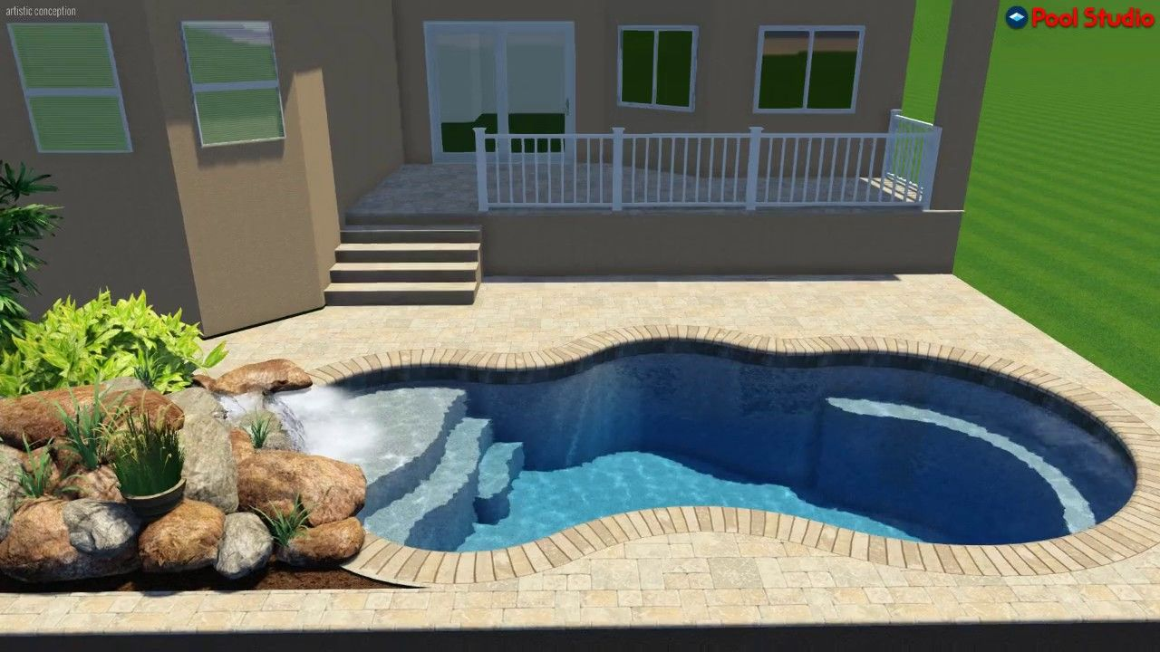 Pool Studio 3d Swimming Pool Design Software Designed And Created By American Beauty Pools Swimming Pool Designs Pool Designs Swimming Pools