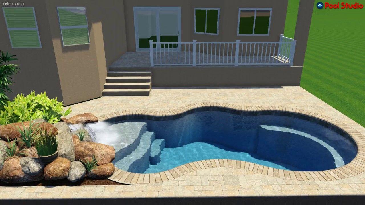 Pool Studio 3d Swimming Pool Design Software Designed And