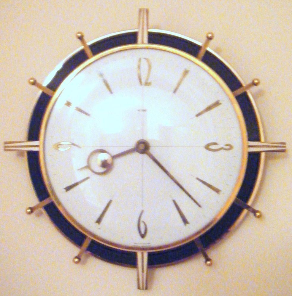 Art Deco Bakelite Clock by Metamec