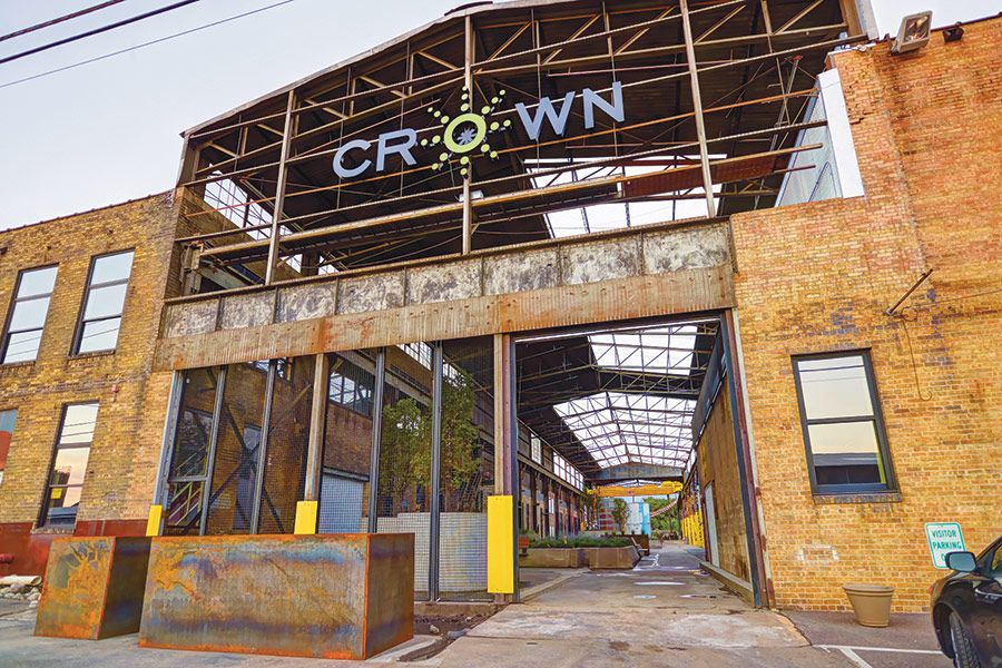 WWII Era Crown Iron Works In Minneapolis Becomes A Microbrewery. Courtesy  Shelter Architecture Via Archpaper