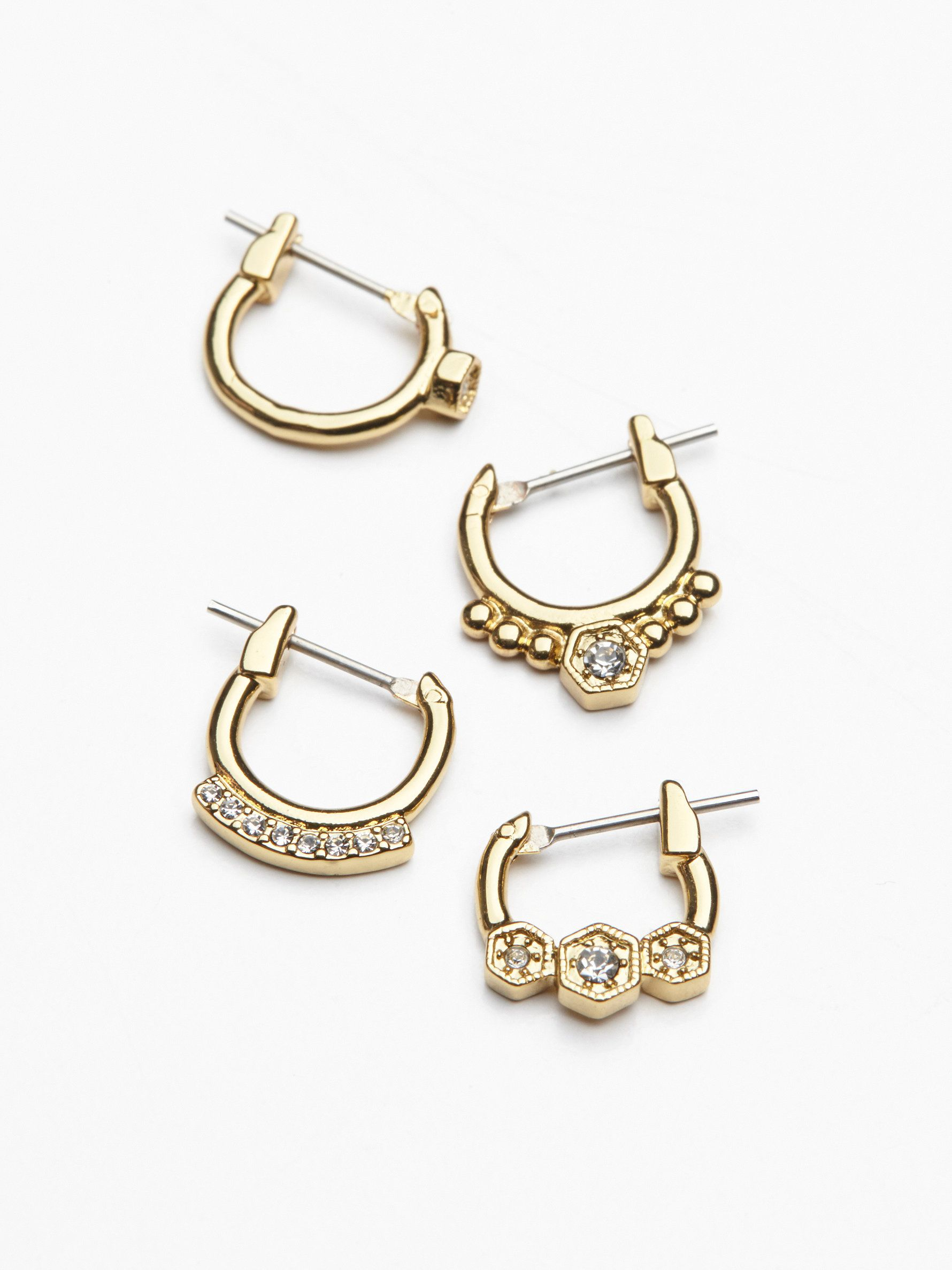 b clip fashion sparkly amazon womens snap back earrings s com women on