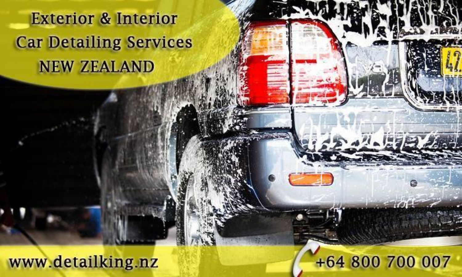 Exterior & Interior CarDetailing & Cleaning Services