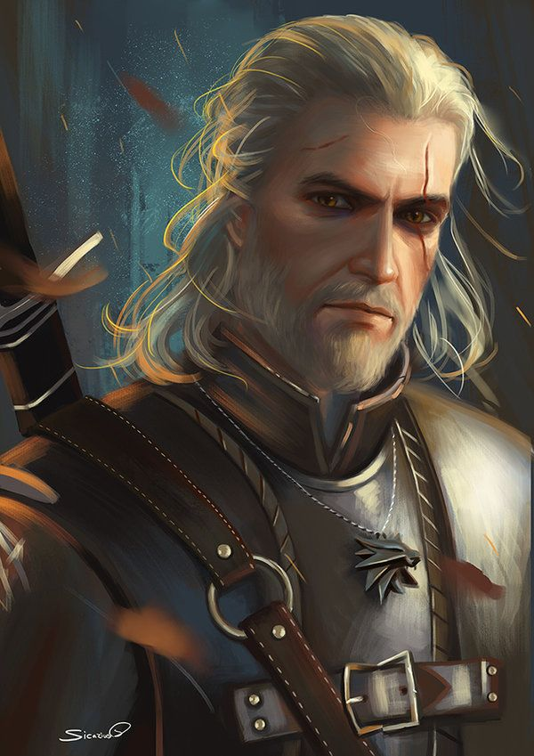 Geralt Of Rivia Witcher 3 By Sicarius8 Deviantart Com On