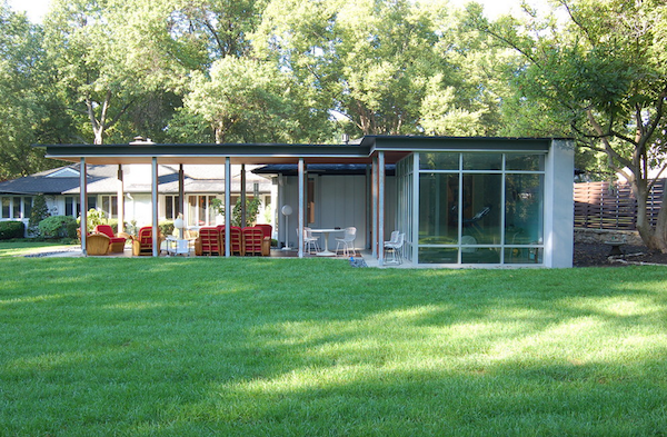 Tampa Bay Mid Century Exterior Modern House Plans Midcentury Modern