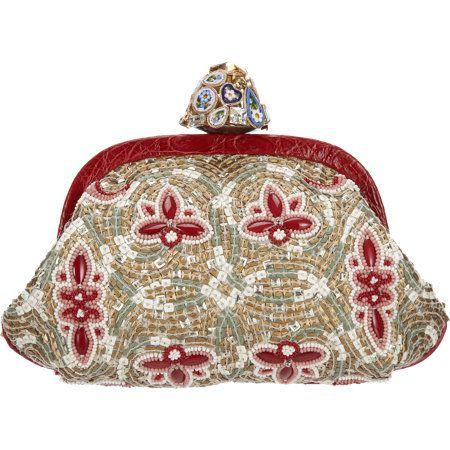 e3cf8ff5b1 DOLCE   GABBANA Miss Dea embellished mosaic clutch