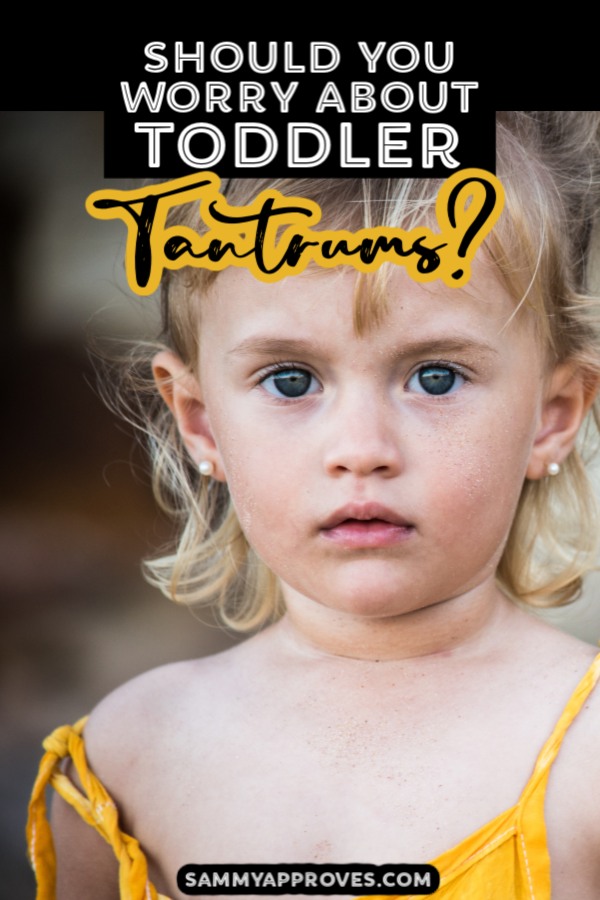 When to worry about toddler tantrums. Great tips to know what is normal when it comes to toddler behavior and tantrums and when to ask a medical professional. #toddlers #toddlerlife #momlife #parenting #toddlermom