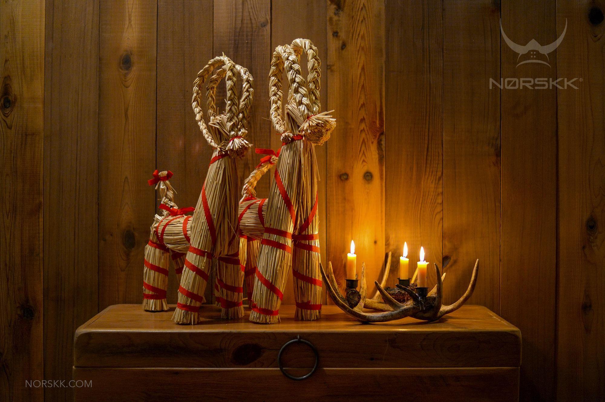 Julebukk: Norse Yule Goat Julebukk (Yule goat) is a Norse Yule ...
