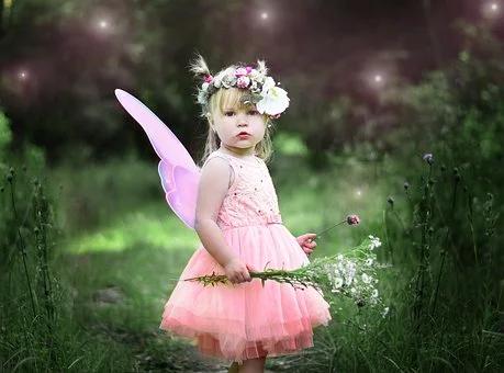 Gratis Billede Pa Pixabay Born Historie Fe Magic Pige Alvehage Gratis Natur