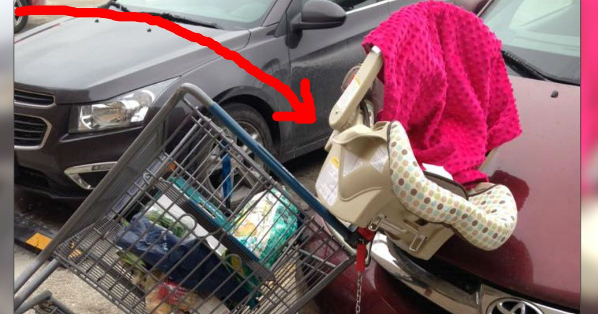 Mom S Warning On Putting Car Seats In The Shopping Cart Baby Shopping Cart Car Seats Cheap Infant Car Seats