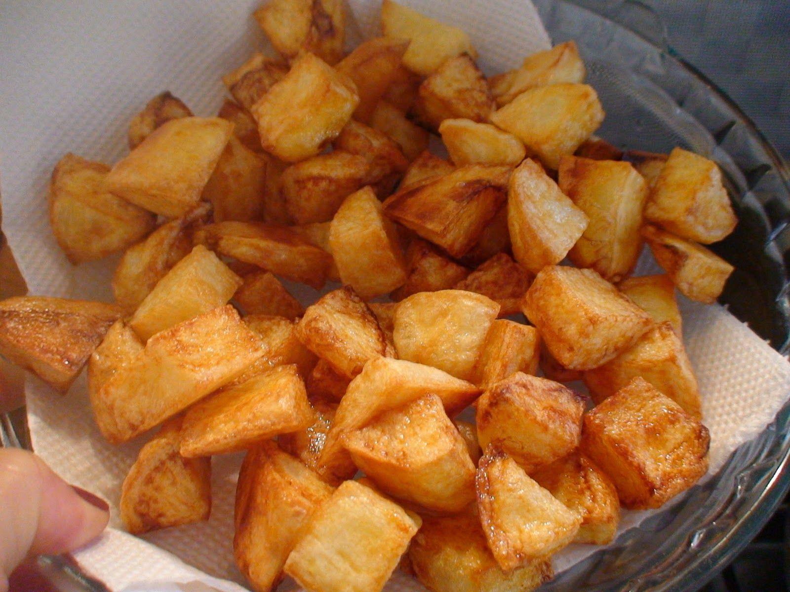 Receita De Batata Frita Na Panela De Pressao Batatas Fritas Na