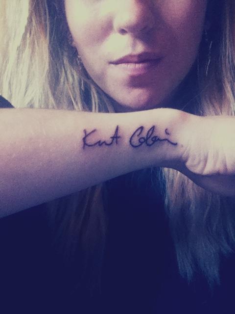 Kurt Cobain Tattoo Kurt Cobain Tatuajes Fondos De Amigos
