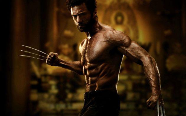 Hugh Jackman Wolverine shirtless